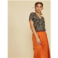 Black-gray patterned blouse ZOOT Tatiana - Blouse