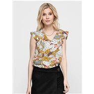 Brown Floral Print Blouse ONLY Beatrice - Blouse