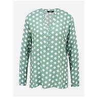 Menthol polka dot blouse ZOOT Cora - Blouse