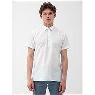 Bílá regular fit košile s příměsí lnu Selected Homme Regtune - Košile