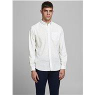 Bílá vzorovaná košile Jack & Jones Cowindsor - Košile