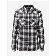 Bílo-černá kostkovaná košile Noisy May Erik - Košile