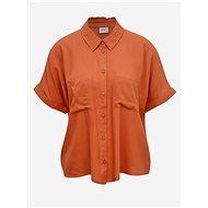 Cihlová volná košile Jacqueline de Yong Cathy - Košile