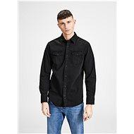 Black denim shirt Jack & Jones - Shirt