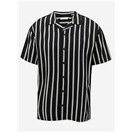Černá pruhovaná košile Jack & Jones Blastripe - Košile