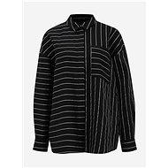 Černá pruhovaná košile VERO MODA Hannnah - Košile