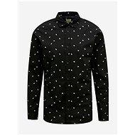Černá vzorovaná košile Jack & Jones Madison - Košile