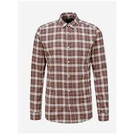 Hnědá kostkovaná košile ONLY & SONS New Omar - Košile