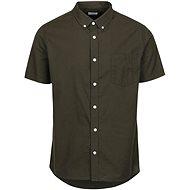 Khaki short sleeve shirt Burton Menswear London - Shirt