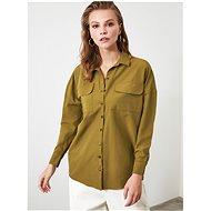 Khaki volná košile Trendyol - Košile