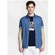 Modrá džínová košile s výšivkou Jack & Jones Surf - Košile