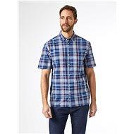 Blue Checkered Shirt Burton Menswear London - Shirt