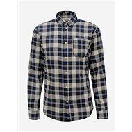 Modrá kostkovaná košile Selected Homme Matthew - Košile