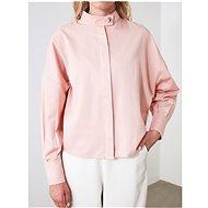 Růžová volná košile Trendyol - Košile