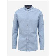 Světle modrá košile s příměsí lnu Jack & Jones Summer - Košile