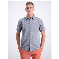 Šedá košile s příměsí lnu Shine Original - Košile