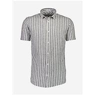 Šedá pruhovaná lněná košile Lindbergh - Košile