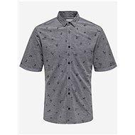 Šedá vzorovaná košile ONLY & SONS - Košile