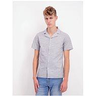 Šedá žíhaná košile Shine Original - Košile