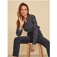 Dark blue women's striped shirt ZOOT Bryony - Shirt