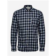 Tmavě modrá kostkovaná košile Selected Homme Matthew L - Košile