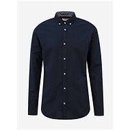 Tmavě modrá košile s příměsí lnu Jack & Jones Summer - Košile