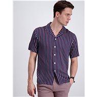 Dark Blue Striped Shirt Lindbergh - Shirt