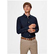 Dark blue slim fit shirt Selected Homme Tyler - Shirt