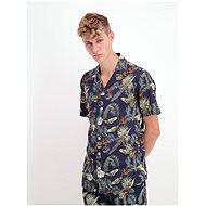 Dark Blue Patterned Shirt Lindbergh - Shirt