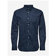 Dark blue patterned shirt ONLY & SONS - Shirt