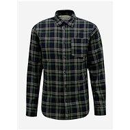 Tmavě zelená kostkovaná košile Selected Homme Matthew - Košile
