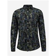 Tmavě zelená vzorovaná košile Shine Original - Košile