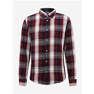 Shine Original burgundy plaid shirt - Shirt