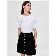 White Selected Femme Summa T-shirt - Women's T-Shirt