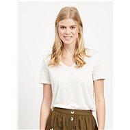 Bílé tričko VILA Noel - Dámské tričko