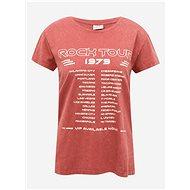 Brick T-shirt with Jacqueline de Yong Rock print - Women's T-Shirt