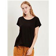 Černé basic tričko VILA Dreamers - Dámské tričko