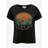 Černé tričko ONLY CARMAKOMA Vernon - Dámské tričko