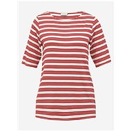 Červené pruhované tričko Jacqueline de Yong Camina - Dámské tričko