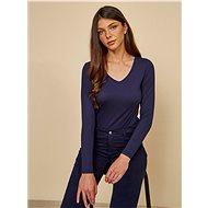 Tmavě modré dámské basic tričko ZOOT Baseline Tamara - Dámské tričko