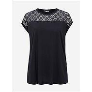 ONLY CARMAKOMA Flake Top, Dark Blue - Women's T-Shirt