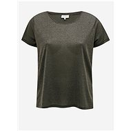 Dark Grey Basic T-Shirt ONLY CARMAKOMA Rex - Women's T-Shirt