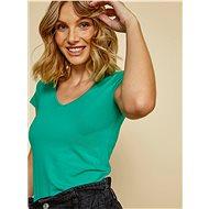 Zelené dámské basic tričko ZOOT Baseline Lia - Dámské tričko