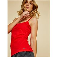 Red women's basic tank top ZOOT Baseline Stacey - Tank Top