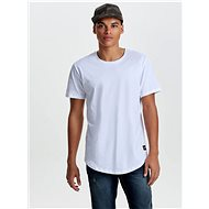 Bílé basic tričko ONLY & SONS Matt - Pánské tričko