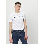 White men's t-shirt ZOOT Original No girlfriend - Men's Shirt
