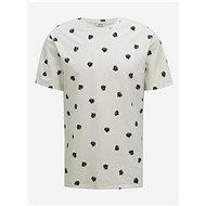 Bílé vzorované tričko ONLY & SONS Matter - Pánské tričko
