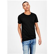 Černé basic tričko Jack & Jones Basic - Pánské tričko