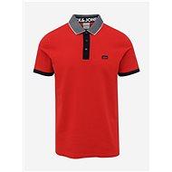Červené polo tričko Jack & Jones Charming  - Pánské tričko