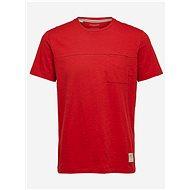 Červené tričko Selected Homme Ethan - Pánské tričko